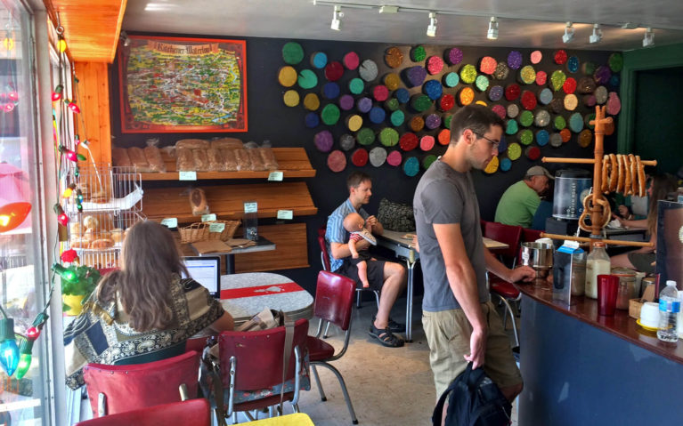 Yeti Cafe, Across from the Kitchener Farmers Market :: I've Been Bit! A Travel Blog