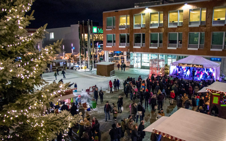 A Scene from Canada's Only Christkindl Market in Kitchener, Ontario :: I've Been Bit! A Travel Blog