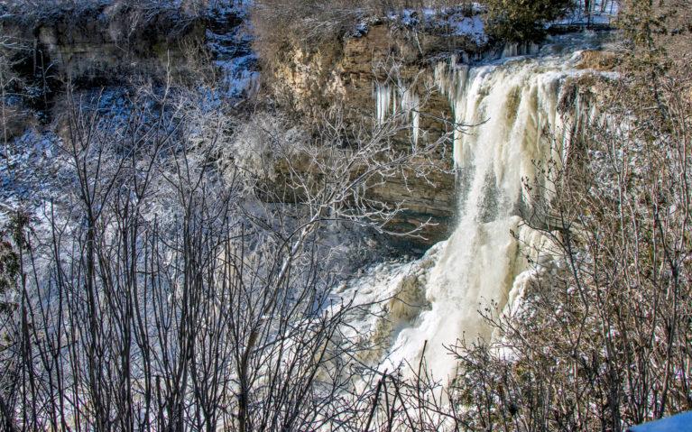 Borer's Falls, Hamilton in the Winter :: I've Been Bit! A Travel Blog