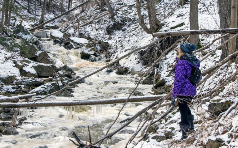 Lindsay, Winter Hiking in Hamilton, Ontario :: I've Been Bit! A Travel Blog