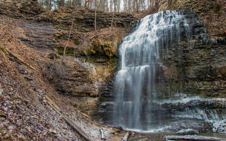Tiffany Falls, Hamilton in Late Autumn :: I've Been Bit! A Travel Blog