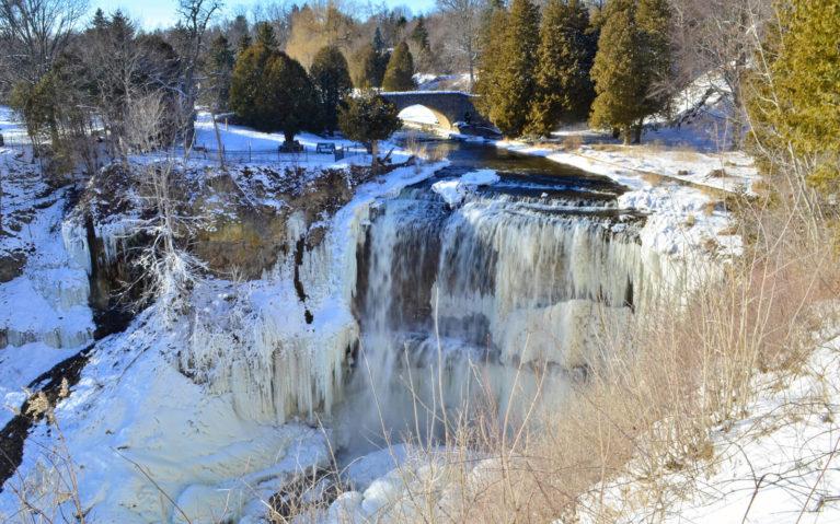 Webster's Falls, Hamilton in Winter :: I've Been Bit! A Travel Blog