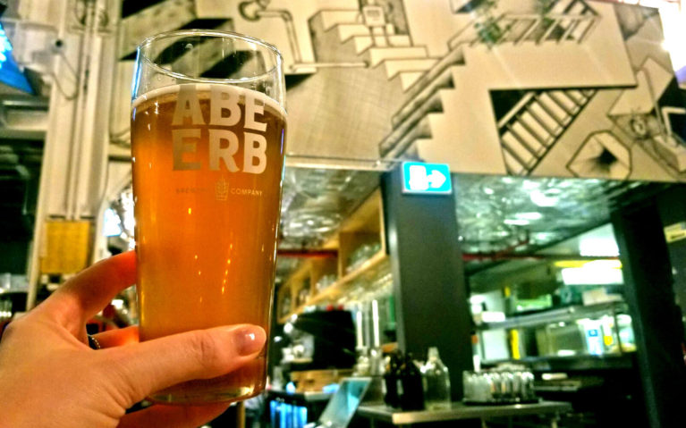 A Pint of Abe Erb's Beer in the Kitchener Location :: I've Been Bit! Travel Blog