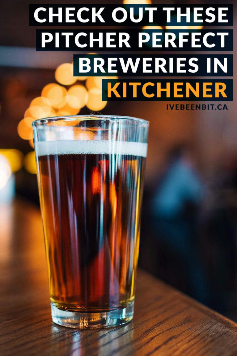 Kitchener-Waterloo breweries for craft beer lovers. Great craft beer in Ontario, Canada. Great travel destinations for beer lovers in Waterloo Region. | #Travel #Canada #Ontario #Kitchener #Waterloo #KitchenerWaterloo #KW #WaterlooRegion #Beer #CraftBeer | IveBeenBit.ca