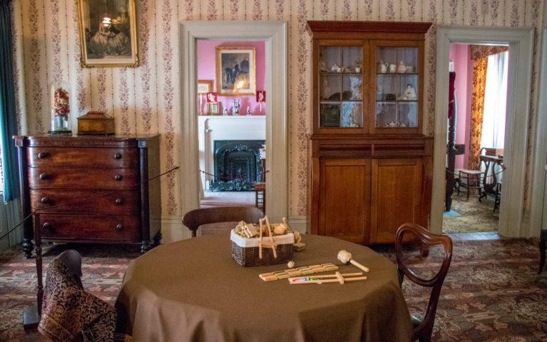 The Nursery in Dundurn Castle where Sophia was Raised :: I've Been Bit! Travel Blog