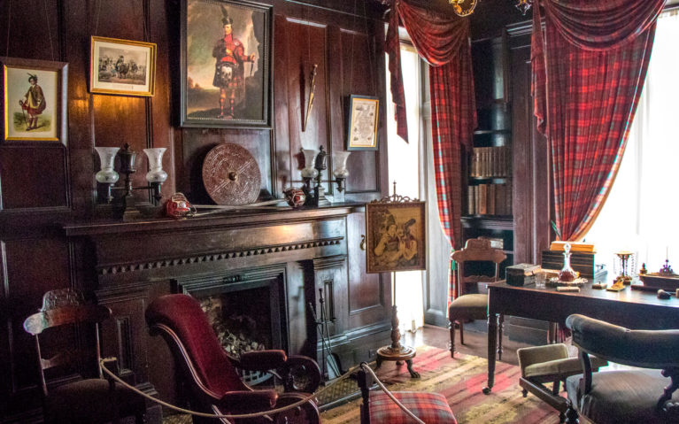 Sir Allan MacNab's Study in Dundurn Castle :: I've Been Bit! Travel Blog