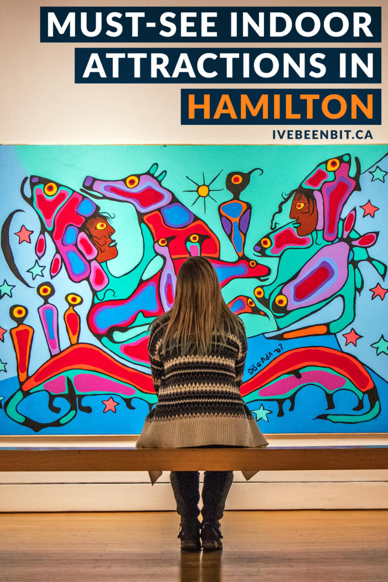 Whether you're planning a winter visit or need inspiration for a rainy day, you'll regret missing out on these indoor activities in Hamilton, Ontario! | #Travel #Canada #Ontario #Hamilton #HeartOfOntario #AttractionsOntario | IveBeenBit.ca