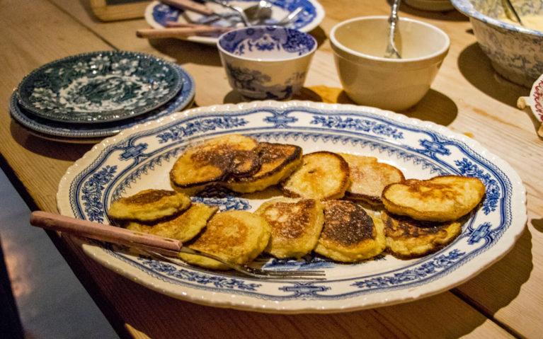 Squash Fritters Courtesy of MacNab's Kitchen! :: I've Been Bit! Travel Blog