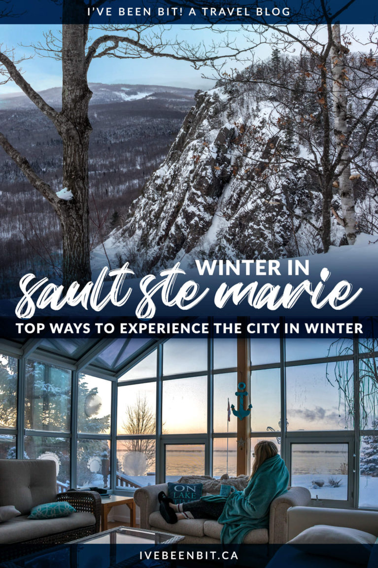 Calling all winter wanderers! You don't want to miss all of these amazing things to do in Sault Ste Marie in winter! | Sault Ste Marie Ontario Winter | Sault Ste Marie Canada | Ontario Winter Getaway | Ontario Winter Travel | Ontario Winter Hikes | Skiing in Ontario | Ontario Cross Country Skiing | Northern Ontario Road Trip | Things to Do in Ontario in Winter | #Winter #Ontario | IveBeenBit.ca