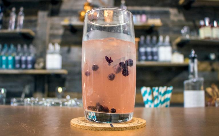 Cardi Breezer at Crosscut Distillery in Northern Ontario :: I've Been Bit! Travel Blog