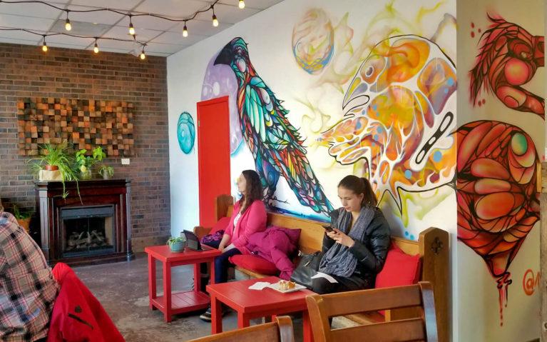Inside of Sudbury's KUPPAJOE Espresso Bar :: I've Been Bit! Travel Blog