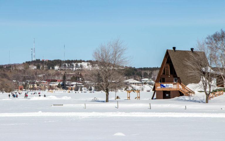 Sudbury Ontario's Ramsey Lake Skate Trail :: I've Been Bit! Travel Blog