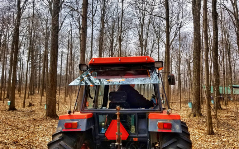 Tractor Ride to Sugar Bush at the Elmira Maple Syrup Festival in Ontario :: I've Been Bit! Travel Blog