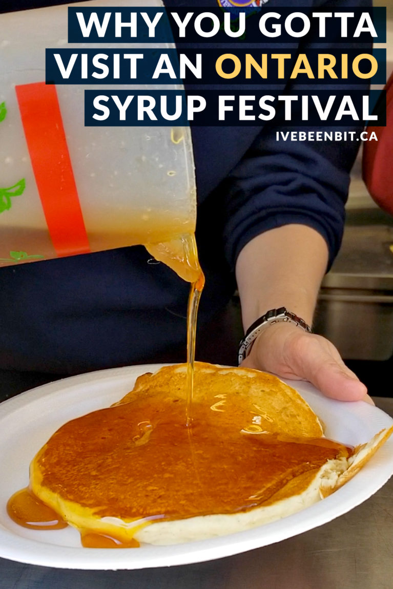 5+ Reasons Why You Have to Visit the Maple Syrup Festivals in Ontario. Ontario maple syrup festivals you gotta visit. Enjoy Canadian tradition at a maple syrup festival. | #Travel #Canada #Ontario #Maple #MapleSyrup #Festival | IveBeenBit.ca