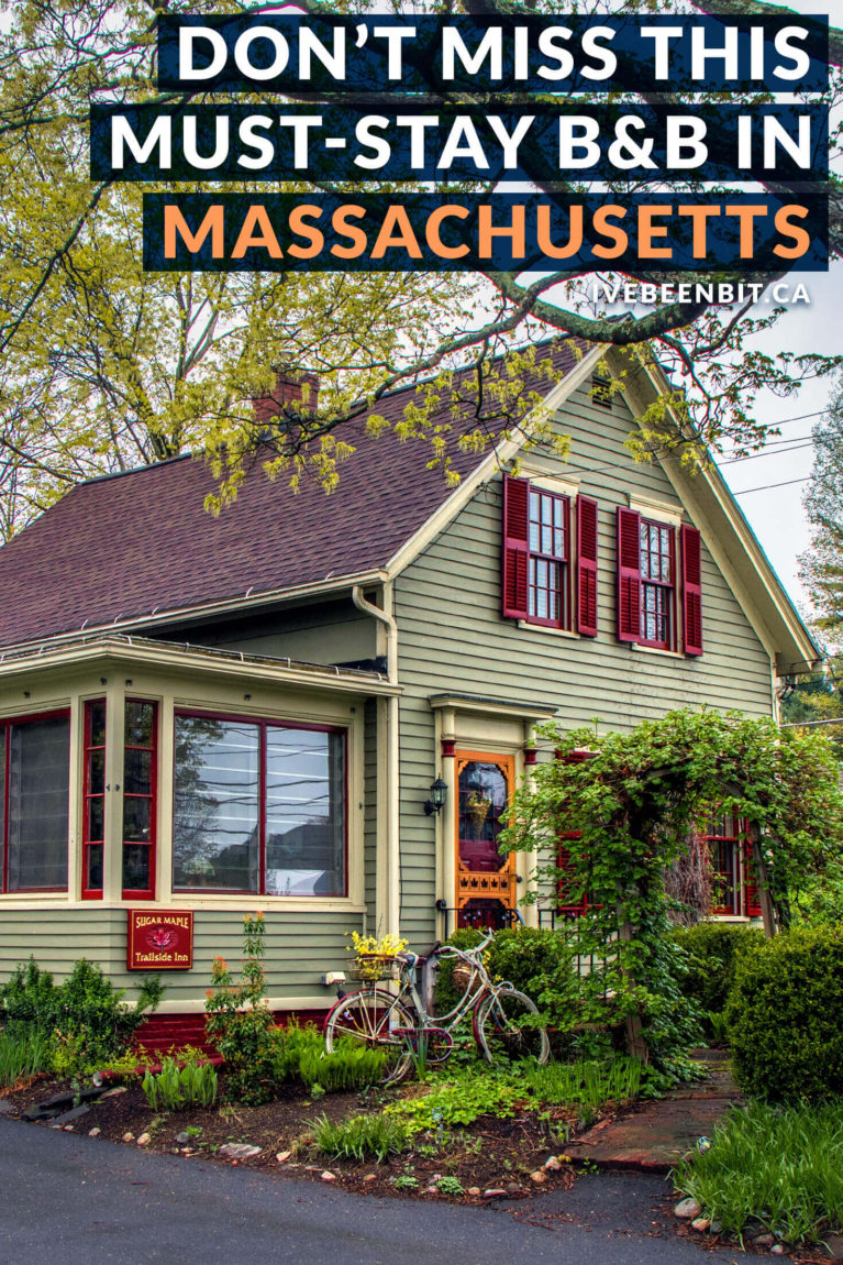 The Sugar Maple Trailside Inn is just what you need for a beautiful getaway in Western Massachusetts. This bed and breakfast in Northampton MA is the perfect choice for Massachusetts accommodation! | #Travel #UnitedStates #USA #Massachusetts #Accommodation #Northampton #Hampshire County | IveBeenBit.ca