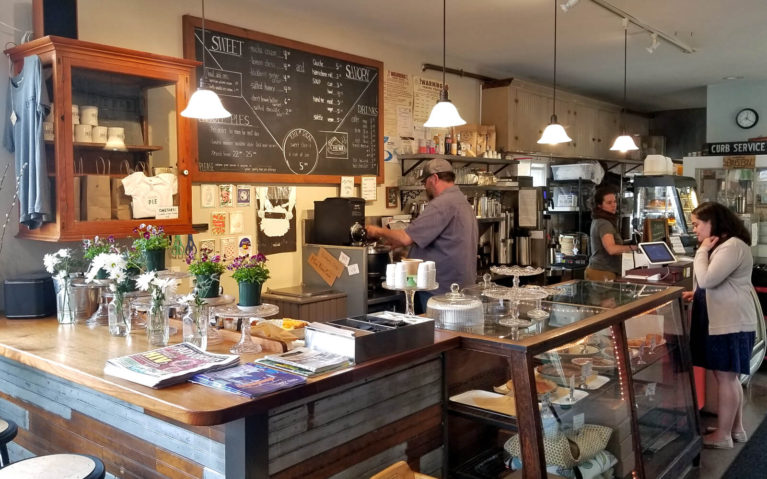Inside the Infamous Florence Pie Bar in Nothampton, MA :: I've Been Bit! Travel Blog