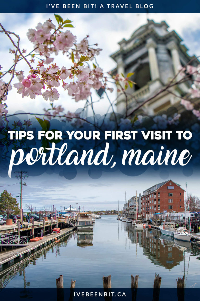 Visiting Portland, Maine for the first time? Don't miss these tips and tricks from someone who experienced them first hand! From planning your trip to general things to know, you'll be fully prepared to visit Portland Maine for the first time after reading this travel guide. | #Travel #UnitedStates #USA #Maine #Portland | IveBeenBit.ca