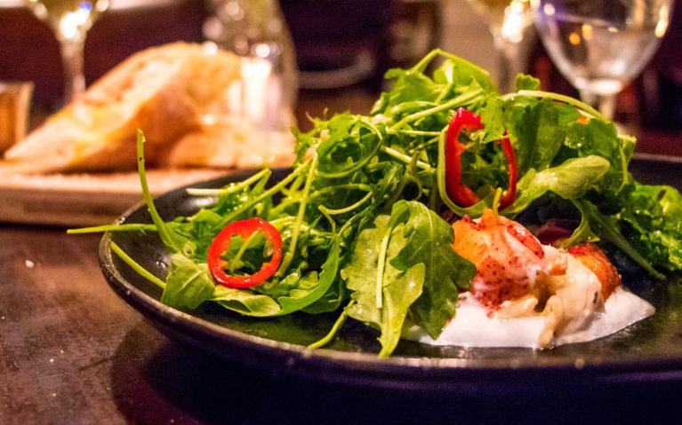 Lobster Salad at the Bluefin Restaurant in Portland Maine :: I've Been Bit! Travel Blog