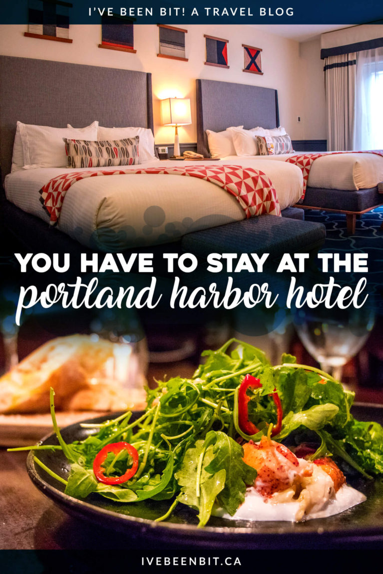 Whether you're looking for an amazing Portland girls getaway, an ideal hotel or just fantastic Portland accommodation, the Portland Harbor Hotel is the perfect choice! See my experience as I wined, dined and relaxed at this beautiful hotel property in Downtown Portland Maine. | #Travel #Accommodation #Hotel #USA #UnitedStates #Maine #Portland | IveBeenBit.ca
