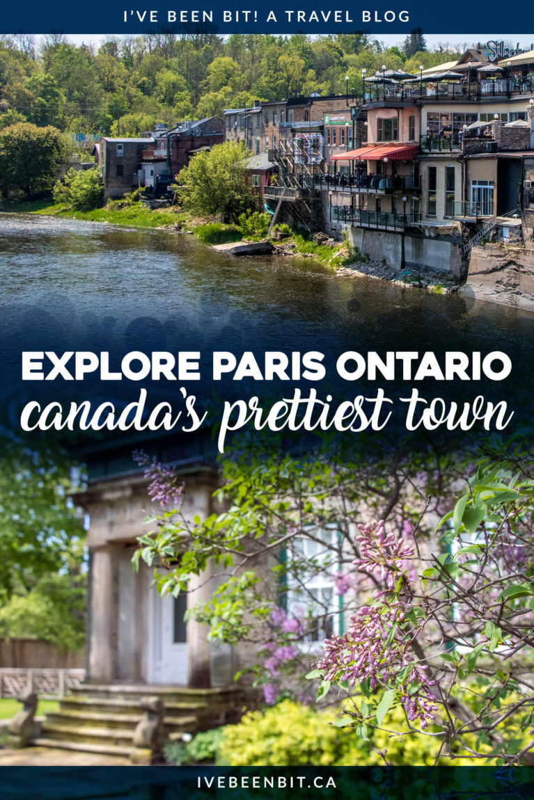 If you're looking for a memorable way to experience Paris Ontario, this is it! You'll enjoy good eats & so much more on a Tasty Road Trip with Jan! Things to do in Paris Ontario. Paris Ontario Guide. | #Travel #Canada #Ontario #Paris #Food #FoodTour | IveBeenBit.ca