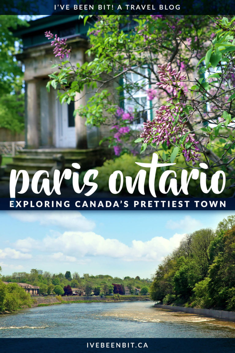 If you're looking for a memorable way to experience Paris Ontario, this is it! You'll enjoy good eats & so much more on a Tasty Road Trip with Jan! Inside you'll find plenty of other things to do in Paris Ontario as well. Check out this top Paris Ontario Guide! | #Canada #Ontario #Paris #Food #FoodTour #Travel | IveBeenBit.ca