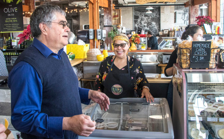 Roberto and Flora Talking to Us About Florcita's Latin Foods :: I've Been Bit! Travel Blog