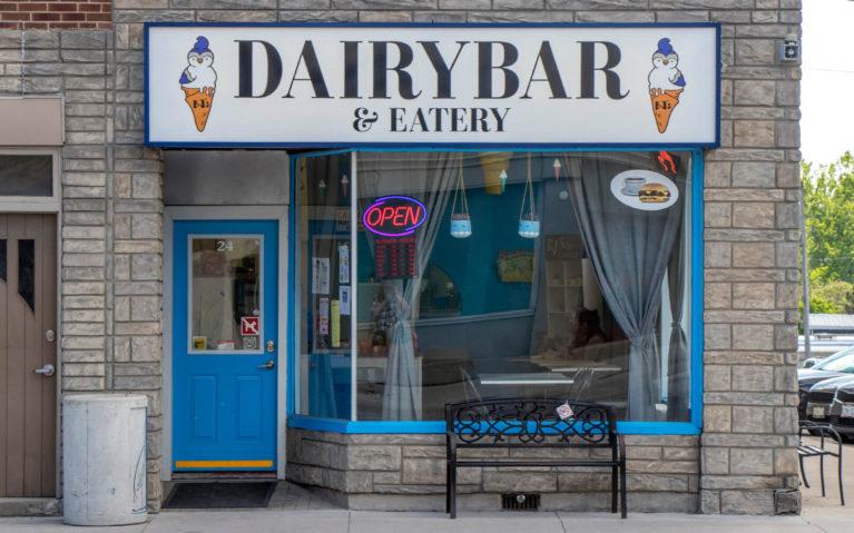 BJs Dairy Bar & Eatery Storefront :: I've Been Bit! Travel Blog