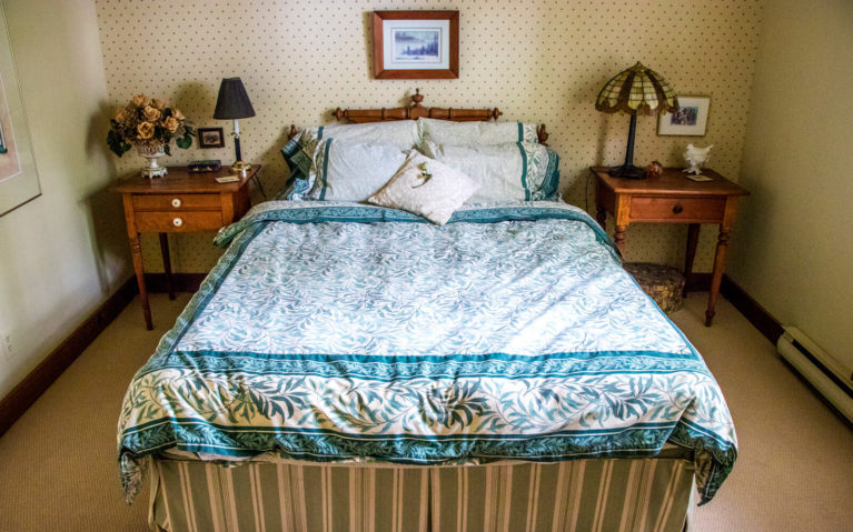 One of the Two Bedrooms at the House of Perivale :: I've Been Bit! Travel Blog