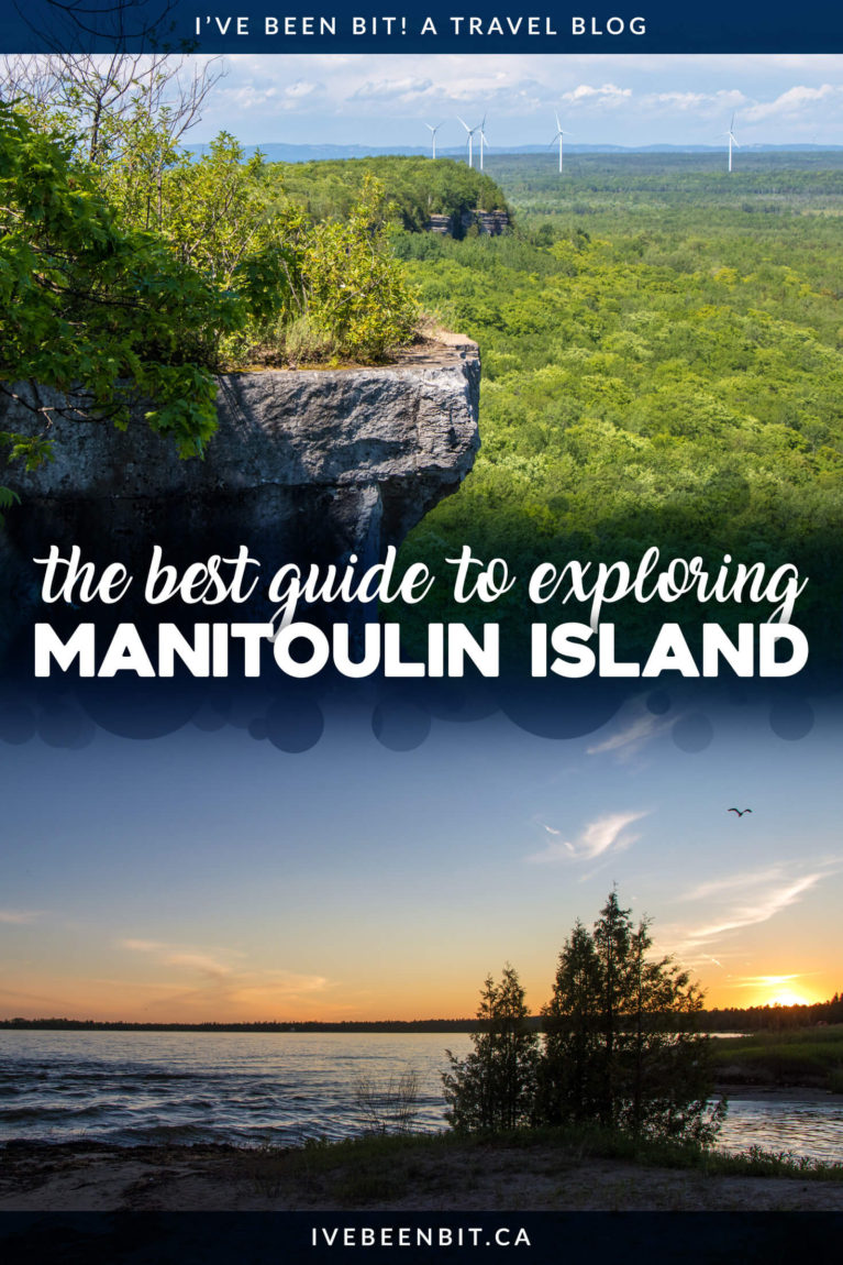 Hiking, lookouts, good eats, great beer, beautiful arts & so much more! Check out these amazing things to do on Manitoulin Island you'll adore! Insider tips and travel advice for planning your visit to Manitoulin Island, Ontario, Canada. | #Travel #Canada #Ontario #Manitoulin #ManitoulinIsland #Hiking #Food #IndigenousExperiences #ArtGallery | IveBeenBit.ca