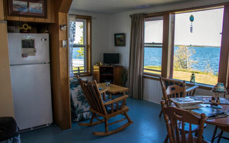 Living Room in the McKay Lighthouse :: I've Been Bit! Travel Blog