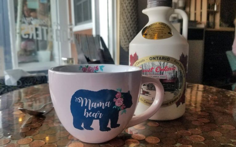 Cup of Chaga Tea at the Copper Bean Cafe in Bruce Mines, Ontario :: I've Been Bit! Travel Blog