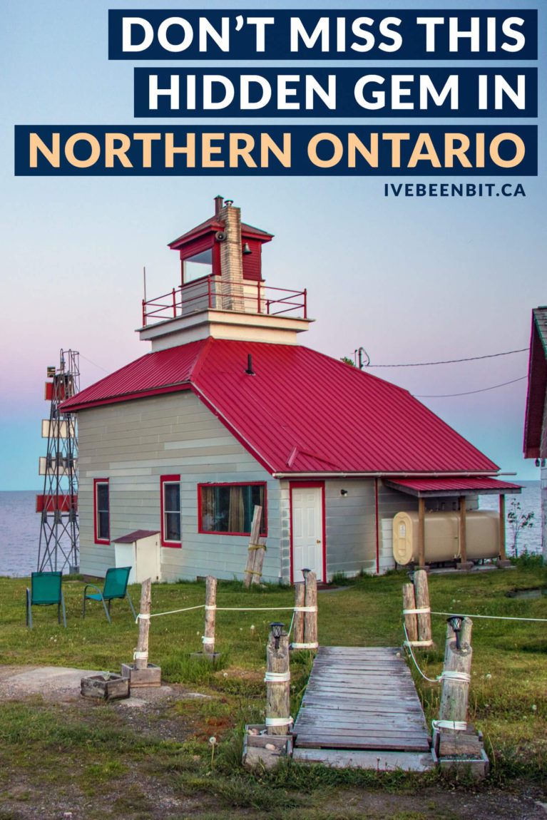 Don't miss out on this hidden gem along the Trans Canada Highway. Whether you're a fan of fishing, hunting for lighthouses or just love the Great Lakes, Bruce Mines is the place for you! Fishing in Northern Ontario. Northern Ontario Travel Guide. | #Travel #Canada #Ontario #Fishing #TMAC | IveBeenBit.ca