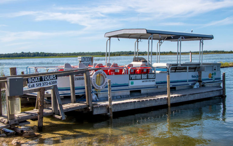Bruce Peninsula Boat Tours on Lake Huron :: I've Been Bit! Travel Blog