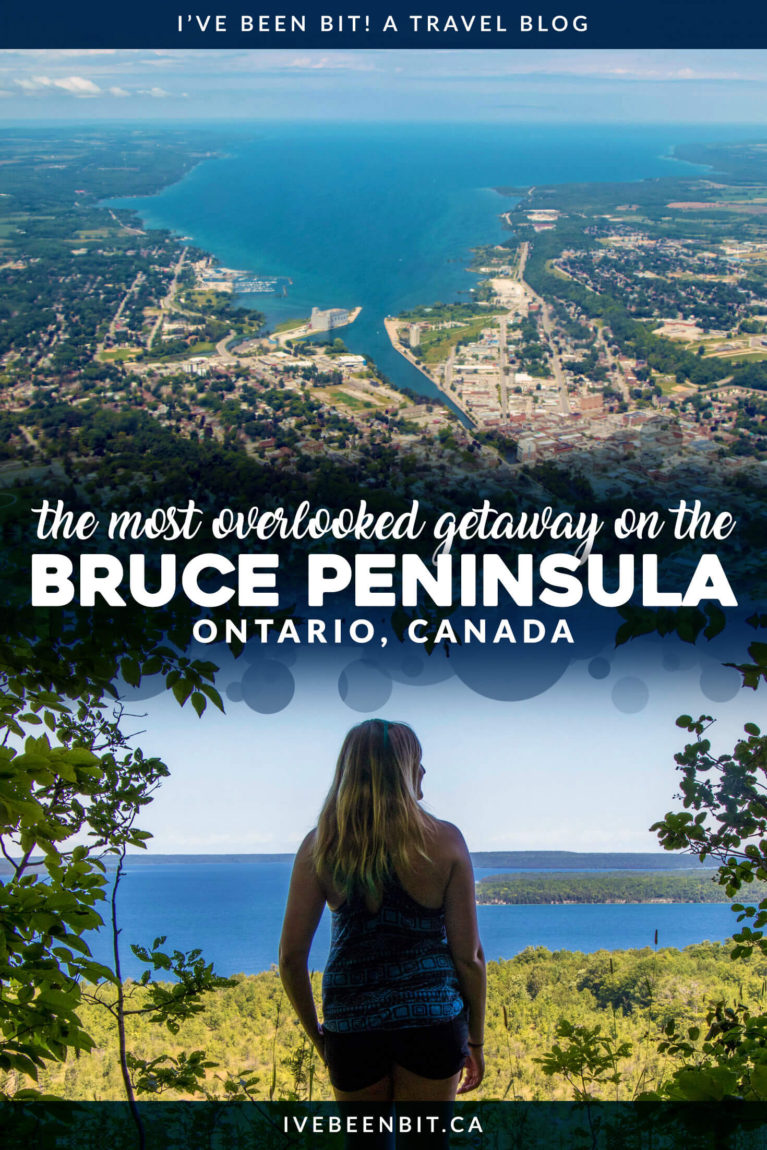 Next time you visit the Bruce Peninsula, forget Tobermory. With plenty of things to do in Wiarton besides visit Willie, you'll LOVE this overlooked destination! South Bruce Peninsula travel guide. Ontario Canada travel tips. | #Travel #Canada #Ontario #BrucePeninsula #Wiarton | IveBeenBit.ca