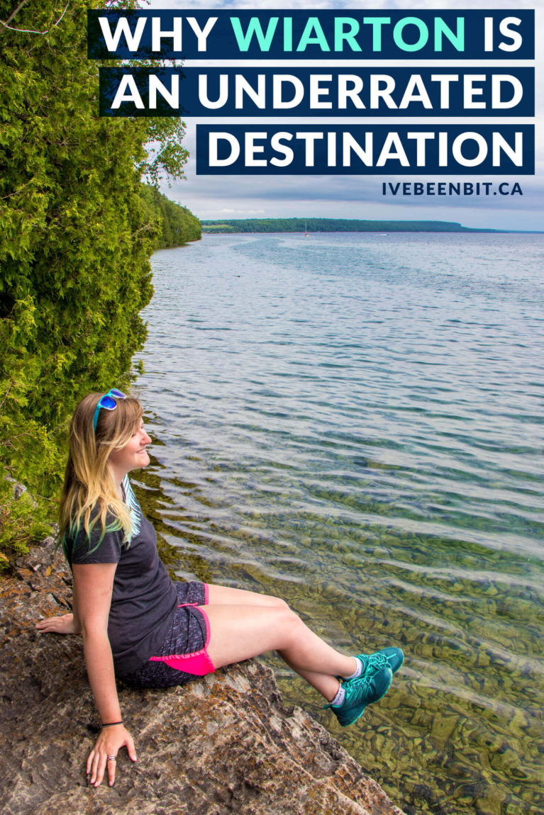 South Bruce Peninsula travel guide. Ontario Canada travel tips. Next time you visit the Bruce Peninsula, forget Tobermory. With plenty of things to do in Wiarton besides visit Willie, you'll LOVE this overlooked destination! | #Travel #Canada #Ontario #BrucePeninsula #Wiarton | IveBeenBit.ca