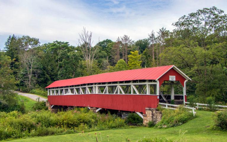 Barronvale Covered Bridge in the Laurel Highlands :: I've Been Bit! Travel Blog