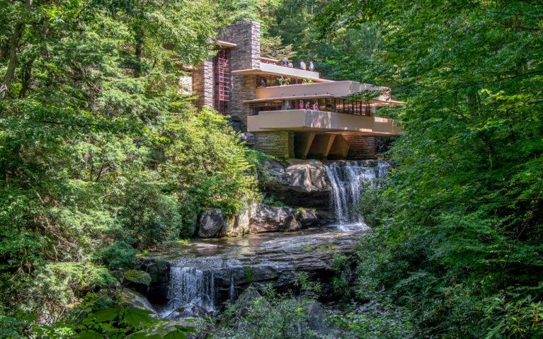 Frank Lloyd Wright's Famous Fallingwater :: I've Been Bit! Travel Blog