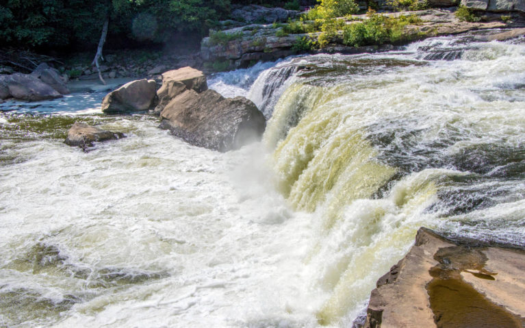 Ohiopyle Falls in the Laurel Highlands :: I've Been Bit! Travel Blog