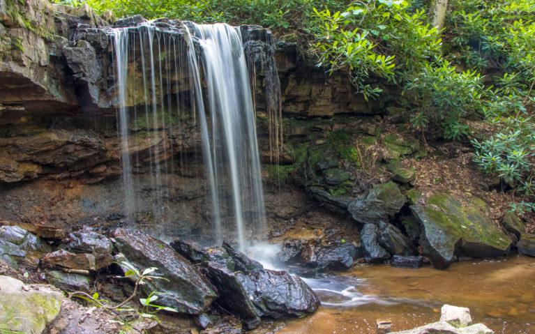 Laurel Highland PA's Cole Run Falls :: I've Been Bit! Travel Blog