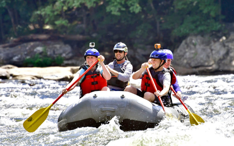 Lindsay Rafting with White Water Adventurers :: I've Been Bit! Travel Blog