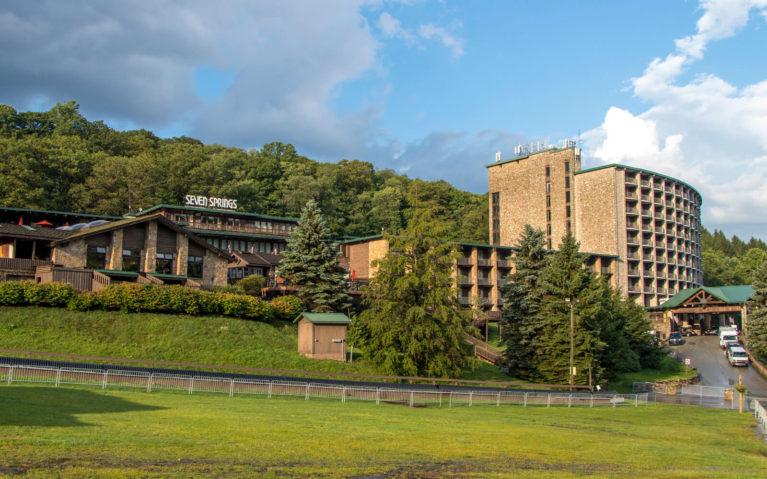 View Outside the Seven Springs Mountain Resort in the Laurel Highlands :: I've Been Bit! Travel Blog