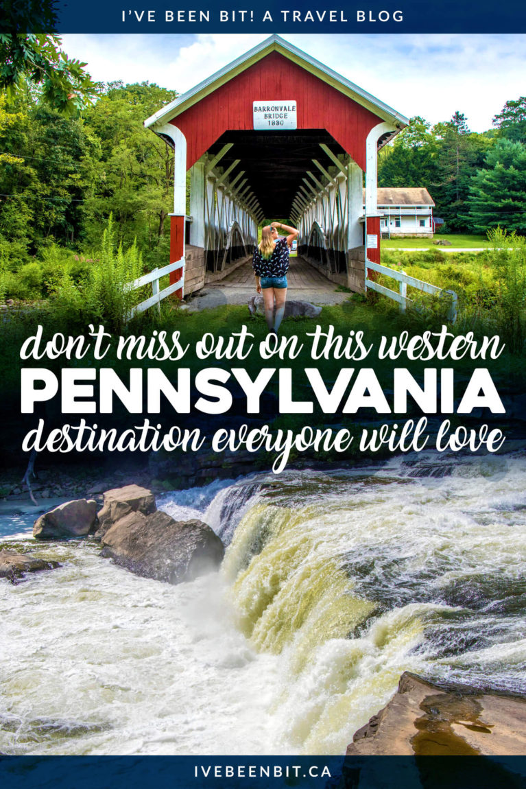 Undeniably fun things to do in Laurel Highlands PA plus where to stay, eat, and drink on a getaway to Western Pennsylvania. PA USA Travel.   #Travel #Pennsylvania #LaurelHighlands #FrankLloydWright #Hiking   IveBeenBit.ca