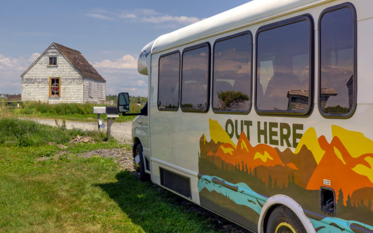 Out Here Bus Touring Eastern Canada :: I've Been Bit! Travel Blog