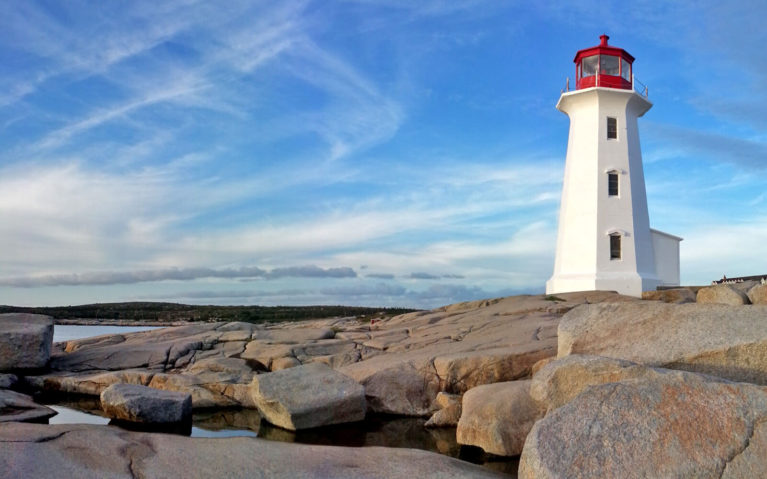 The Iconic Lighthouse at Peggy's Cove in Nova Scotia :: I've Been Bit! Travel Blog