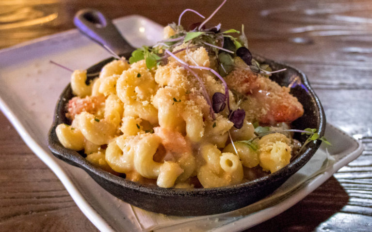 Lobster Macaroni and Cheese at The Barn, Allenberry Resort in Boiling Springs Pennsylvania :: I've Been Bit! Travel Blog