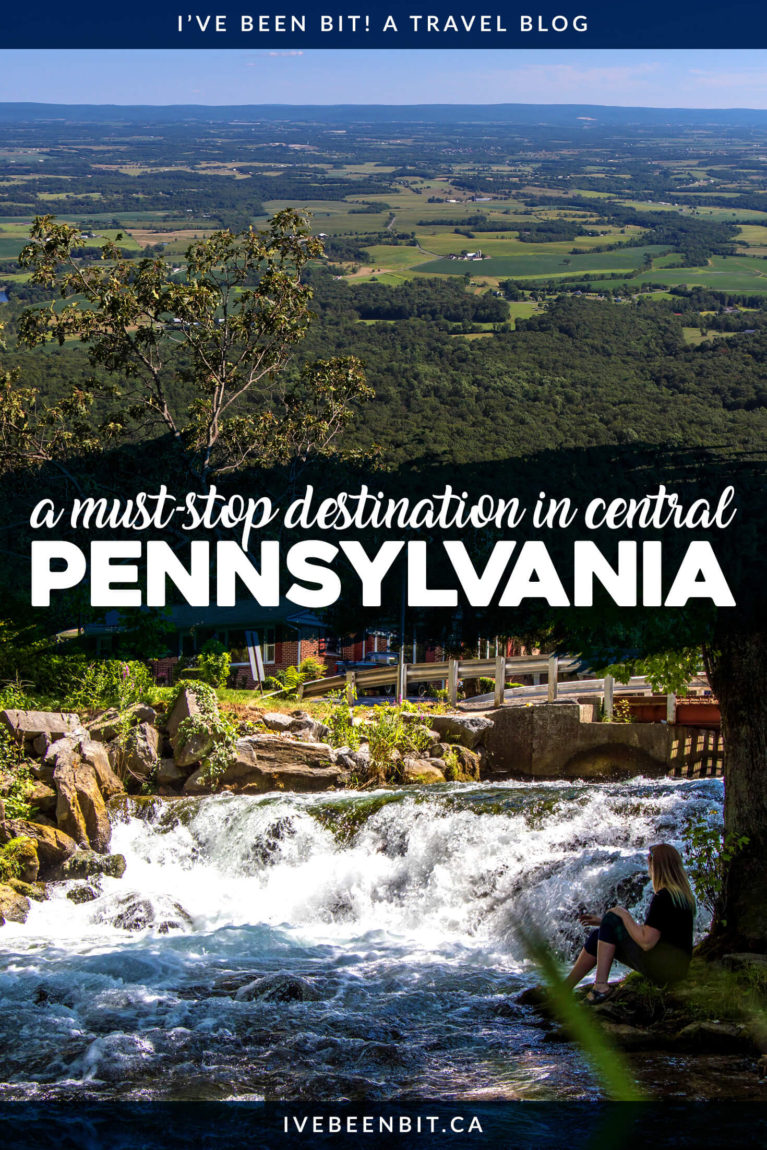 Planning a trip to Pennsylvania, USA? You can't miss these things to do in Carlisle PA and the Cumberland Valley! From the middle of the Appalachian Trail to great eats and beautiful accommodation, it's the perfect getaway destination. | #Travel #USA #UnitedStates #Pennsylvania #AppalachianTrail | IveBeenBit.ca