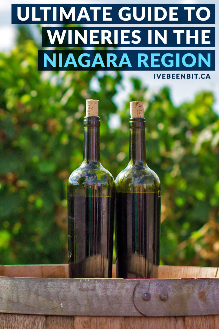 The Niagara Region is a mecca for wine, meaning it can be hard to know where to go. You won't want to miss the best Niagara wineries! Wineries in Niagara-on-the-Lake, wineries in Vineland and more wineries in Ontario. Ultimate guide to the wineries of Niagara. | #Travel #Canada #Ontario #Niagara #NiagaraOnTheLake #NiagaraFalls #Wine | IveBeenBit.ca