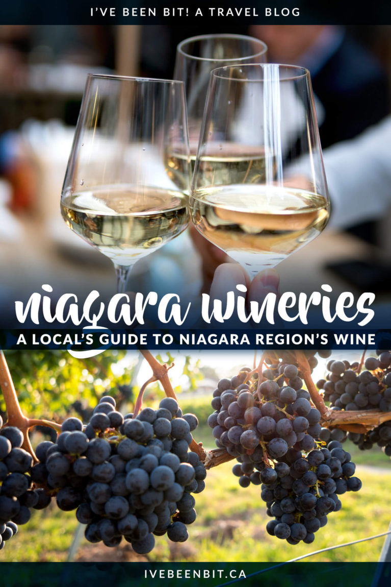 Looking for the best wineries in Niagara? You won't want to miss this guide to Niagara wine. You'll hear about the ins and outs of the top wineries in the Niagara Region from a local - and what wineries to avoid. Whether you have an afternoon in Niagara-on-the-Lake or planning a weekend trip to Niagara, this guide has you covered for some serious wine time! | #Travel #Canada #Ontario #Wine #WineTour #Niagara #NiagaraOnTheLake | IveBeenBit.ca