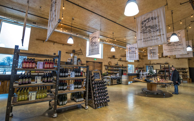 Shot of the Interior of the Hare Wine Co, One of the Niagara Wineries You Should Visit :: I've Been Bit! Travel Blog
