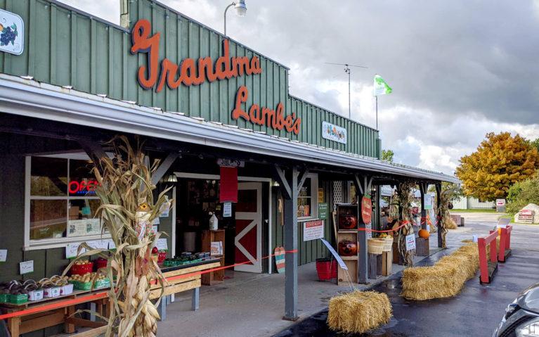 Outside of Grandma Lambe's in South Georgian Bay :: I've Been Bit! Travel Blog